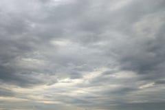 De donkere, Onheilspellende Wolken van de Regen Royalty-vrije Stock Fotografie