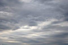 De donkere, Onheilspellende Wolken van de Regen Stock Foto's