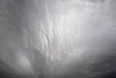 De donkere, Onheilspellende Wolken van de Regen Royalty-vrije Stock Foto