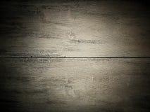 de donkere oude houten achtergrond van de planktextuur Stock Fotografie