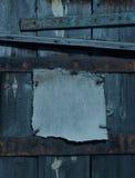 De donkere roestige achtergrond van het grungekader Stock Afbeeldingen