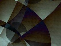 De donkere ruimteachtergrond van het art deco Stock Fotografie