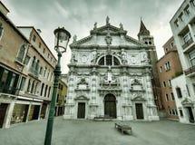 De donkere scène van Venetië Royalty-vrije Stock Afbeelding
