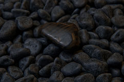De donkere steen Stock Foto