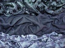 De donkere stof Royalty-vrije Stock Afbeelding