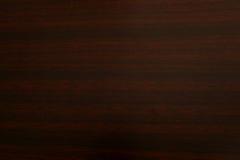 De donkere textuur van de pruim houten korrel Stock Foto's