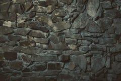 De donkere Textuur van de Steen Stock Afbeeldingen