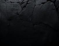 De donkere Textuur van de Steen Zwarte rots Stock Fotografie