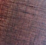 De donkere textuur van de stoffensteekproef Royalty-vrije Stock Foto's