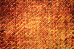 De donkere textuur van het bamboe Stock Foto's