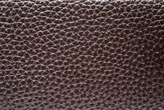 De donkere textuur van het kalfsvleesleer. Royalty-vrije Stock Afbeelding
