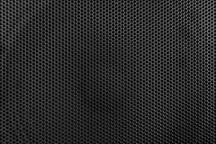 De donkere textuur van het metaalnetwerk Stock Fotografie