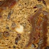 De donkere textuur van het roggebrood Royalty-vrije Stock Afbeelding