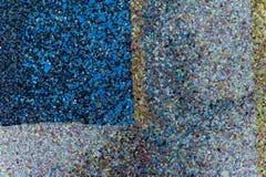 De donkere textuur van kleine steen Royalty-vrije Stock Afbeelding