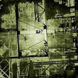 De donkere vector van de grungetextuur Royalty-vrije Stock Foto's