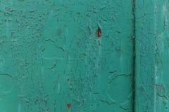 De donkere versleten roestige achtergrond van de metaaltextuur Royalty-vrije Stock Afbeelding