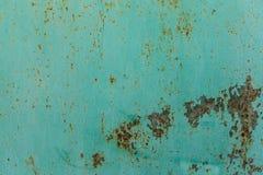 De donkere versleten roestige achtergrond van de metaaltextuur Stock Fotografie
