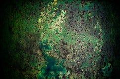De donkere versleten roestige achtergrond van de metaaltextuur Royalty-vrije Stock Foto's
