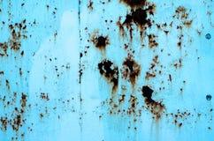 De donkere versleten roestige achtergrond van de metaaltextuur Royalty-vrije Stock Foto