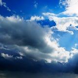 De donkere wolken van het onweer Royalty-vrije Stock Foto