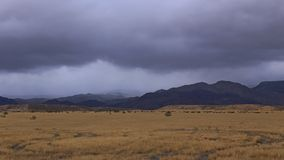 De donkere Wolken, vlak vóór de Regen begint Royalty-vrije Stock Afbeelding