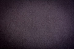 De donkergrijze achtergrond van de stoffentextuur Stock Foto