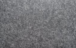 De donkergrijze kleur van de Feltedstof Stock Fotografie