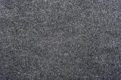 De donkergrijze kleur van de Feltedstof Royalty-vrije Stock Afbeelding