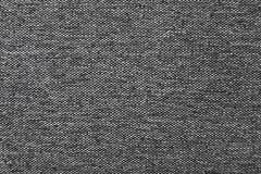 De donkergrijze natuurlijke textuur van de linnenstof voor de achtergrond Royalty-vrije Stock Afbeeldingen