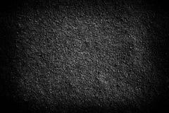 De donkergrijze zwarte achtergrond van de zandtextuur Stock Fotografie