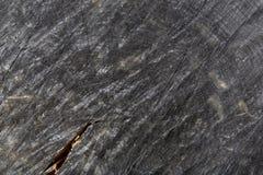 De donkergrijze of zwarte houten achtergrond van de textuurclose-up Stock Foto