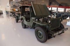 De donkergroene Militaire Jeep van Ford GPW van 1943 Stock Foto