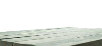 De donkergroene verf bedekte houten raad met een laag Royalty-vrije Stock Afbeeldingen