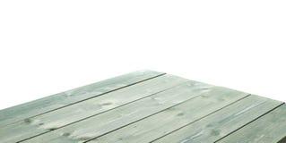 De donkergroene verf bedekte houten raad met een laag Royalty-vrije Stock Fotografie