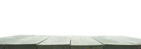 De donkergroene verf bedekte houten raad met een laag Royalty-vrije Stock Afbeelding