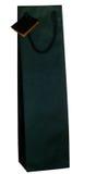 De donkergroene zak van de wijngift die over wit wordt geïsoleerd Stock Afbeelding