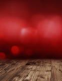 De donkerrode achtergrond van de valentijnskaartdag Royalty-vrije Stock Afbeeldingen
