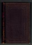 De donkerrode bindende achtergrond van het doekboek Stock Foto's