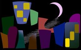 De donkerste nacht vector illustratie