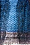 De donsachtige sjaal van Orenburg Stock Afbeeldingen