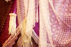 De donsachtige sjaal van Orenburg Royalty-vrije Stock Afbeelding