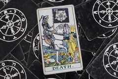 De dood De Kaart van het tarot Royalty-vrije Stock Afbeelding