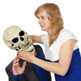 De dood geeft zich over - de mensen winnen Stock Afbeeldingen
