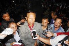DE DOOD VAN DE HOOGSTE BLIJSPELACTEUR VAN INDONESIË Royalty-vrije Stock Fotografie