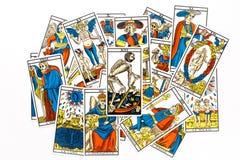 De dood van de tarotkaart trekt Royalty-vrije Stock Foto's
