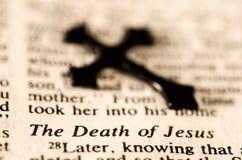 De Dood van Jesus. Stock Foto's