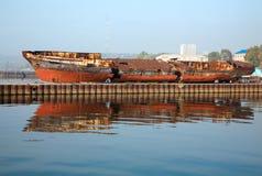 De dood van schepen Royalty-vrije Stock Fotografie