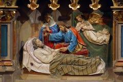 De dood van St Joseph Stock Foto