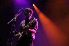 De doodscabine voor Cutie-band presteert bij San Miguel Primavera Sound Festival Royalty-vrije Stock Afbeeldingen