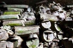 De doodskisten van het Lumianghol - Filippijnen Royalty-vrije Stock Foto's